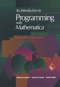 An Introduction to Programming With Mathematicam Superscript/ Superscript