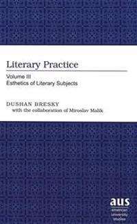 Literary Practice