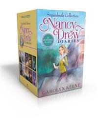 Nancy Drew Diaries Supersleuth Collection: Curse of the Arctic Star; Strangers on a Train; Mystery of the Midnight Rider; Once Upon a Thriller; Sabota