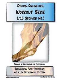 Sechzehntel Grooves Nr.3