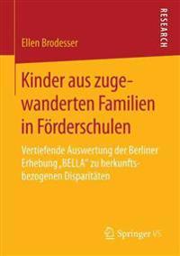 Kinder Aus Zugewanderten Familien in F rderschulen