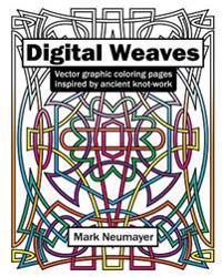 Digital Weaves: Vector Graphic Coloring Pages Inspired by Ancient Knot-Work