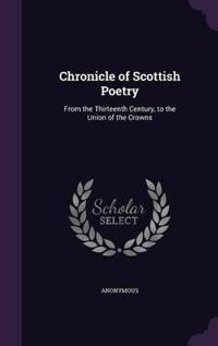 Chronicle of Scottish Poetry