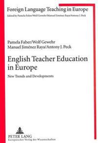 English Teacher Education In Europe
