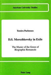 D.S. Merezhkovsky in Exile