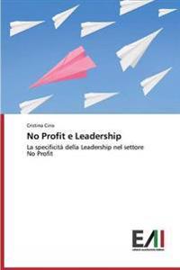 No Profit E Leadership
