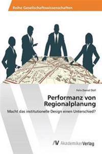 Performanz Von Regionalplanung