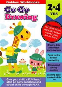 Go Go Drawing, 2-4 Yrs.