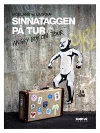 Sinnataggen på tur - Angry boy on tour. Inneholder 12 postkort - La Staa   Inprintwriters.org
