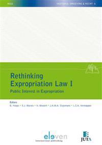 Rethinking Expropriation Law I