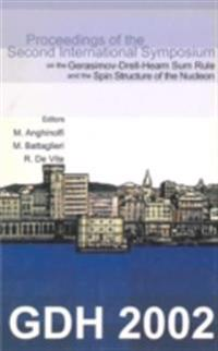 GDH 2002, PROCEEDINGS OF THE SECOND INTERNATIONAL SYMPOSIUM ON THE GERASIMOV-DRELL-HEARN SUM RULE AND THE SPIN STRUCTURE OF THE NUCLEON