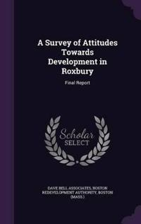 A Survey of Attitudes Towards Development in Roxbury