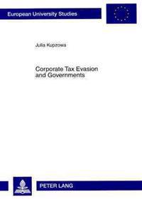 Corporate Tax Evasion and Governments