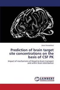 Prediction of Brain Target Site Concentrations on the Basis of CSF Pk