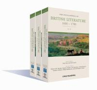The Encyclopedia of British Literature, 3 Volume Set: 1660 - 1789