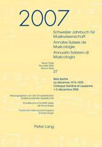 Schweizer Jahrbuch Fur Musikwissenschaft