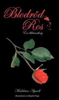 Blodröd ros