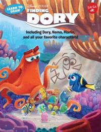Learn to Draw Disney Pixar's Finding Dory: Including Dory, Nemo, Marlin, and All Your Favorite Characters!