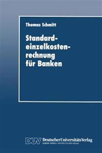 Standardeinzelkostenrechnung Fur Banken