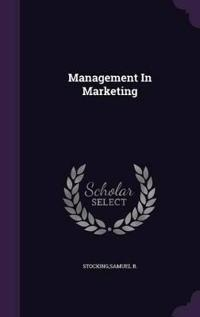 Management in Marketing