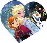 Disney Frost Feber Hjärtebok