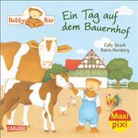 Maxi-Pixi Nr. 185: VE 5 Bobby Bär: Ein Tag auf dem Bauernhof