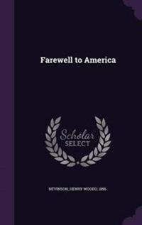 Farewell to America