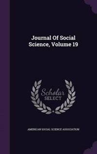 Journal of Social Science, Volume 19