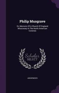 Philip Musgrave