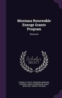 Montana Renewable Energy Grants Program