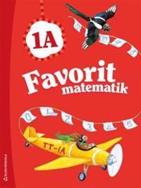 Favorit matematik 1A - Elevpaket (Bok + digital produkt)