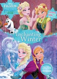 Disney Frozen Enchanting Winter: Jumbo Coloring Book Plus Stickers