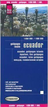 Reise Know-How Landkarte Ecuador, Galápagos (1:650.000 / 1.000.000)