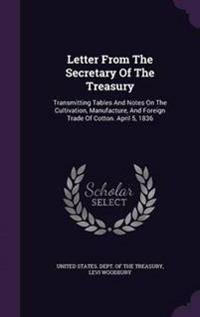 Letter from the Secretary of the Treasury