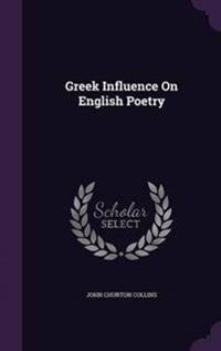 Greek Influence on English Poetry