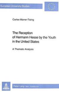 Reception of Hermann Hesse by the Youth in the United States