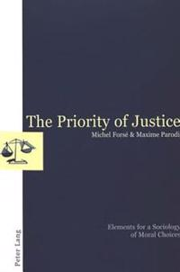 The Priority of Justice