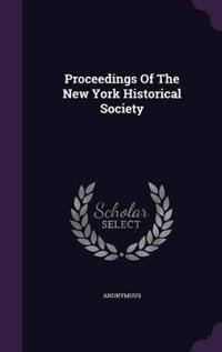Proceedings of the New York Historical Society