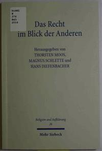 Das Recht Im Blick Der Anderen: Zu Ehren Von Prof. Dr. Dres. H.C. Eberhard Schmidt-Assmann