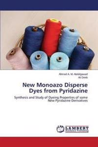 New Monoazo Disperse Dyes from Pyridazine