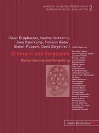 Erinnern und Vergessen/Remembering and Forgetting