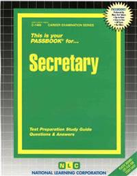 This is Your Passbook for Secretary