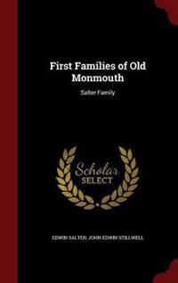 First Families of Old Monmouth