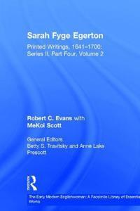 Sarah Fyge Egerton