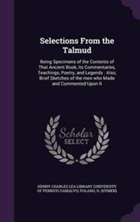Selections from the Talmud