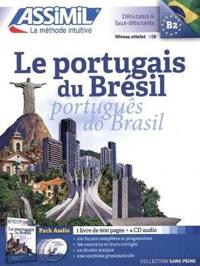 Le Portugais du Bresil Book + 4 Audio Cds