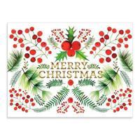 Berry Botanical Large Embellished Notecards