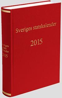 Sveriges statskalender 2015