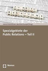Spezialgebiete Der Public Relations - Teil II