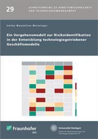 Ein Vorgehensmodell zur Risikoidentifikation in der Entwicklung technologiegetriebener Geschäftsmodelle